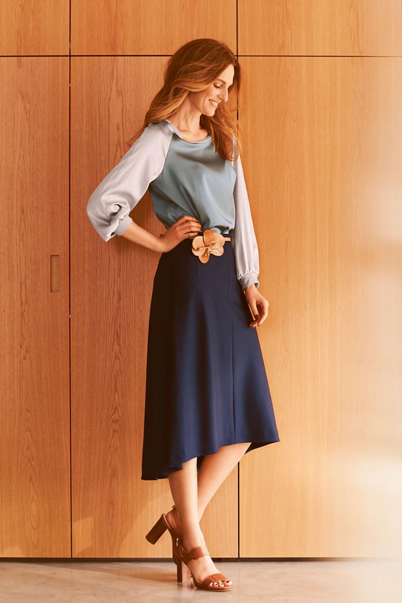 Блузка с рукавом реглан