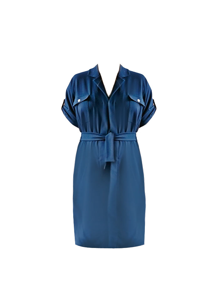Платье рубашечного стиля выкройка