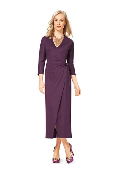 Длинные платья с запахом купить