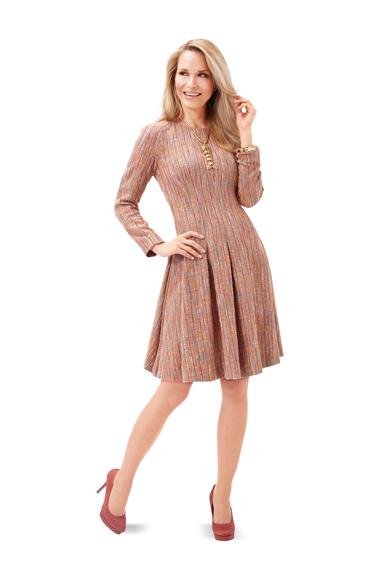 Платье расклешенное бурда