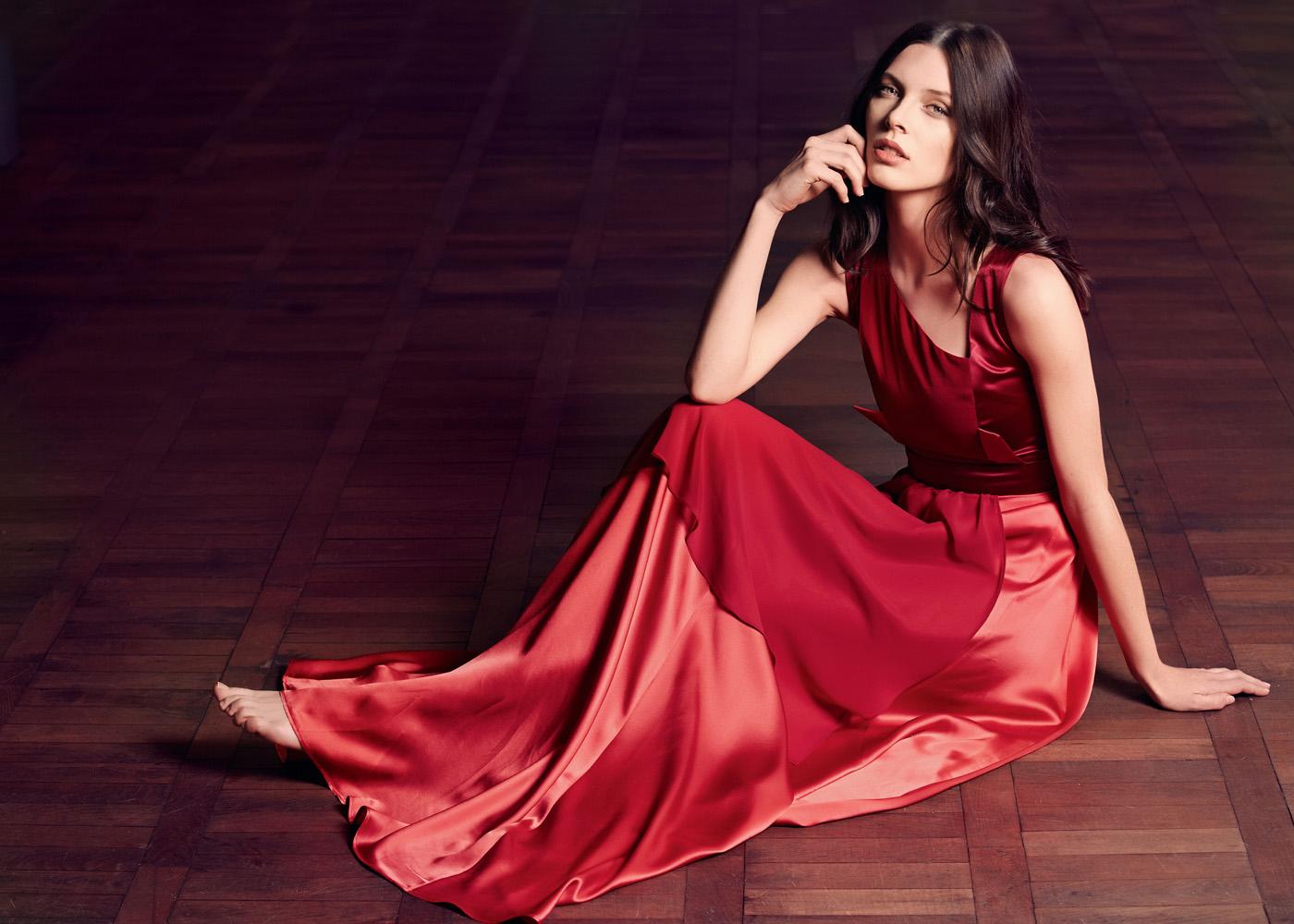 Журнал бурда с выкройками женского вечернего платья