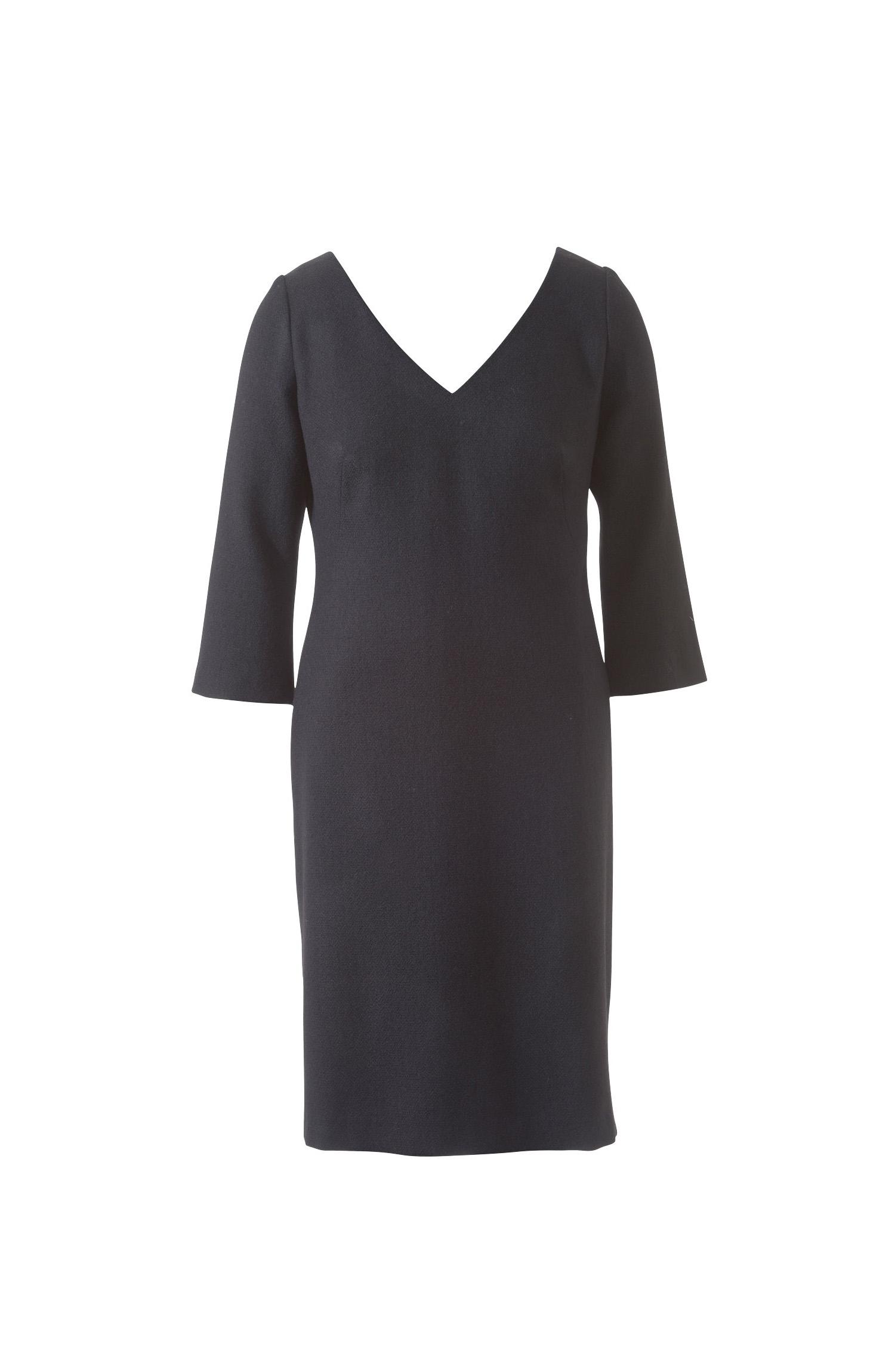 Как сшить платье с вырезом v