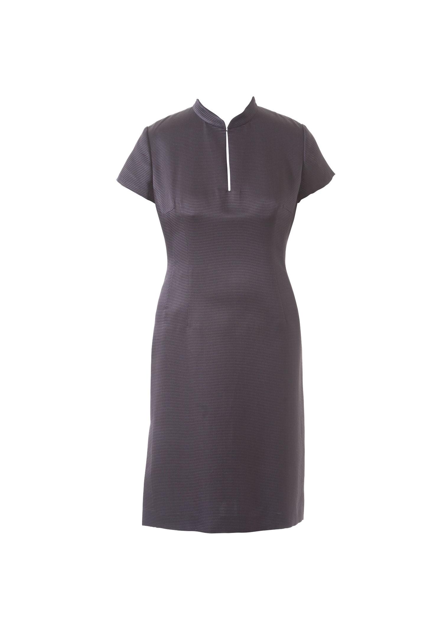 Как сделать воротник-стойка на платье