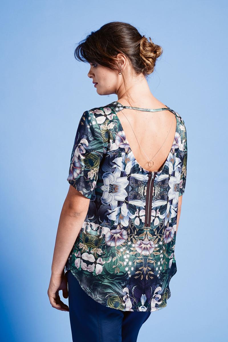Блузка с глубоким декольте в челябинске