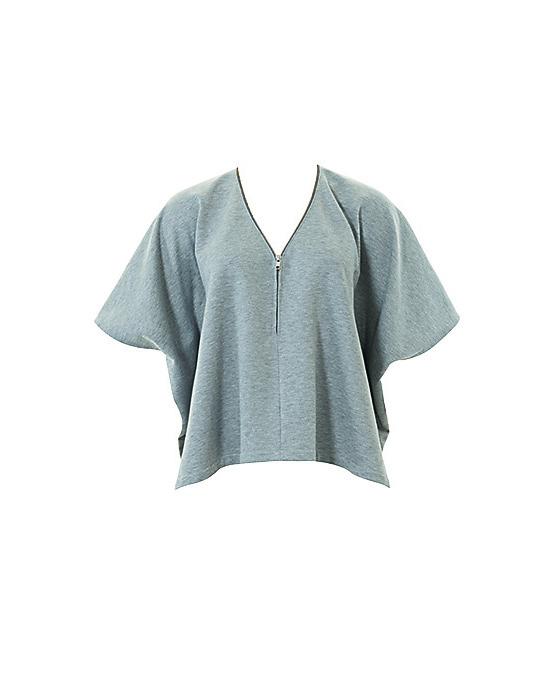 Пуловер с v образным вырезом
