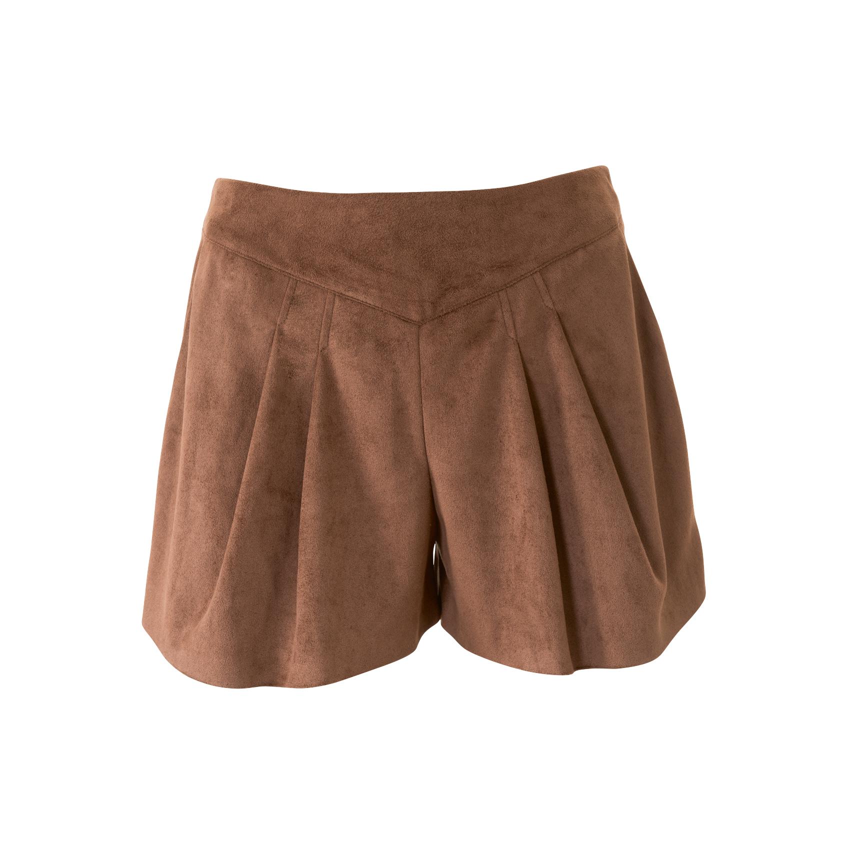 Выкройка юбки из замши