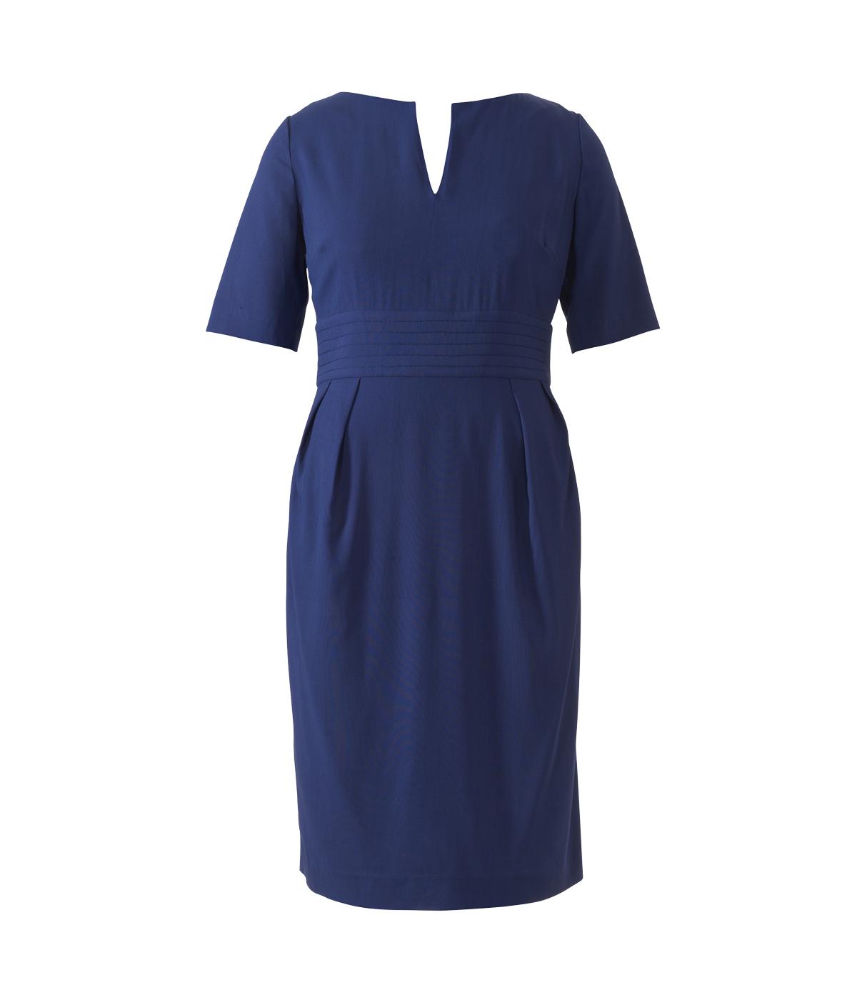 как носить длинное платье в горошек