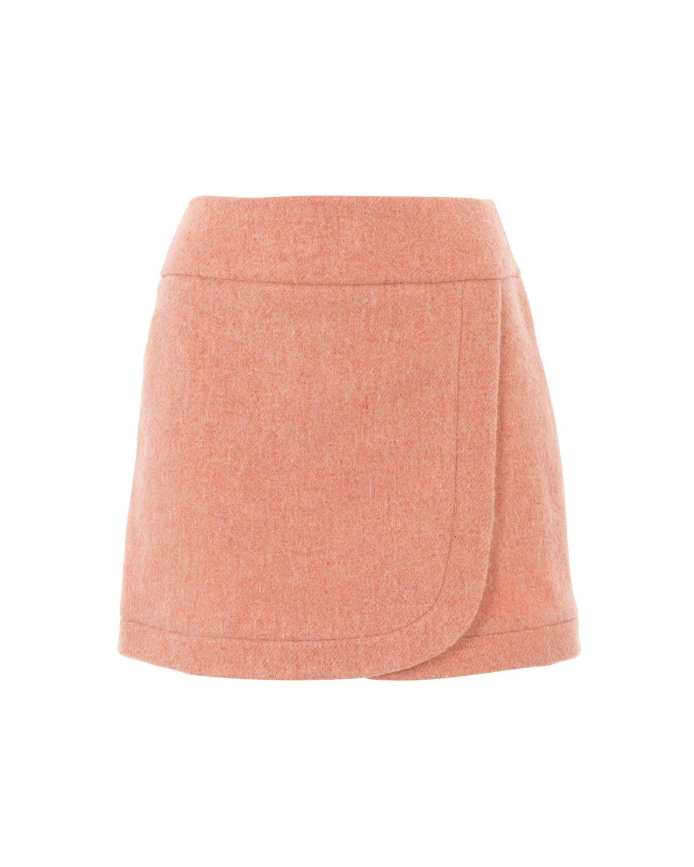 Выкройка юбки на кокетке в бурде