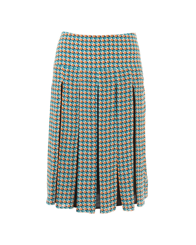 Выкройка юбки на широкой кокетки