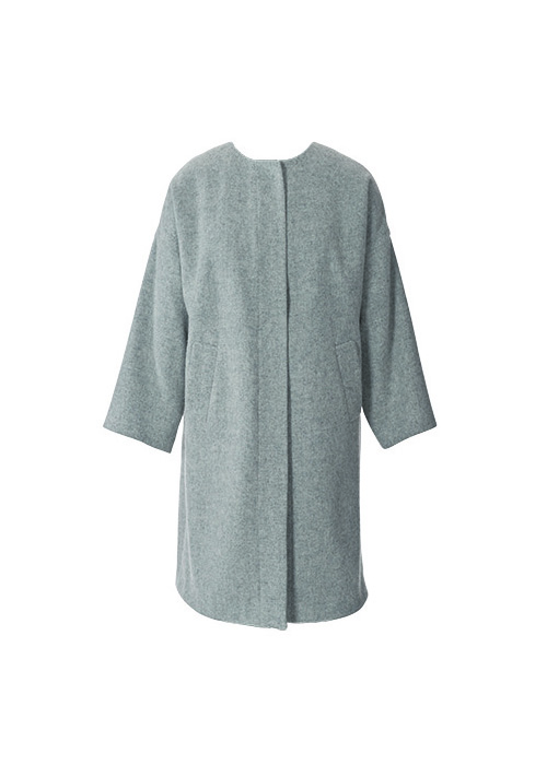 Как сшить пальто без воротника