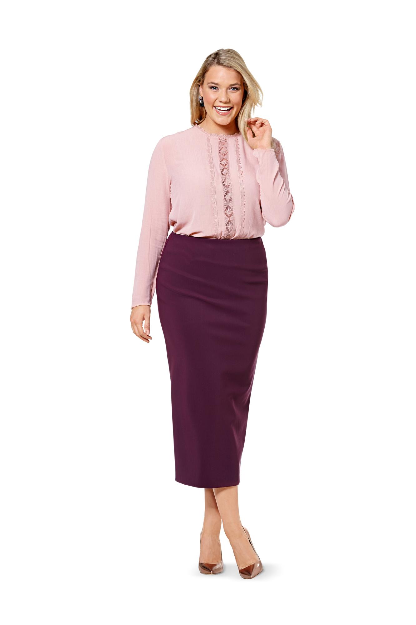 Бурда юбка для женщин