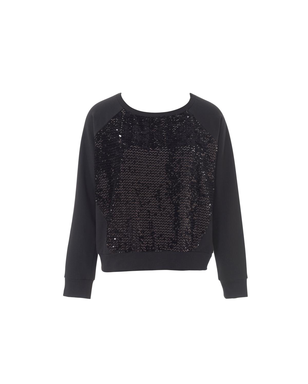 Женский пуловер с рукавом реглан