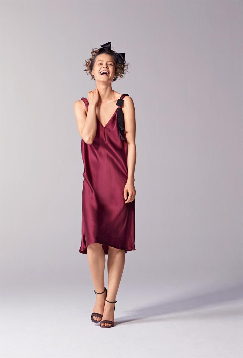 Платья бельевого стиля с кружевом 178
