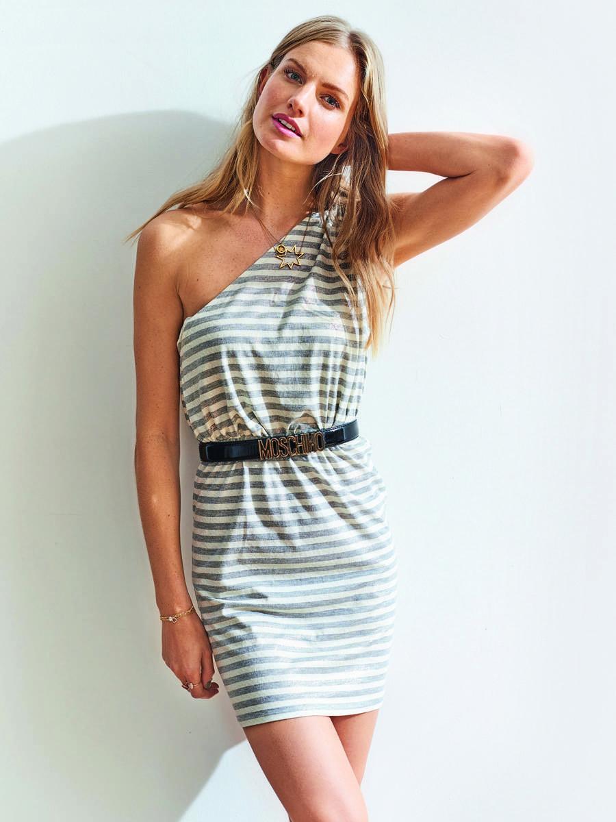Платье топ на одно плечо