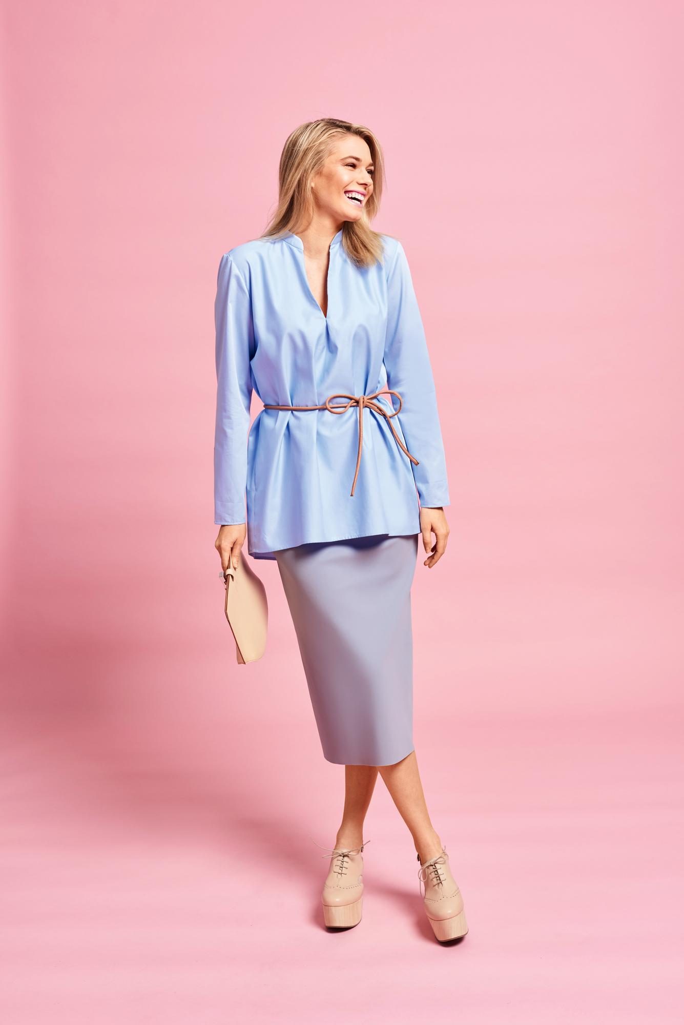Женские блузки с воротником
