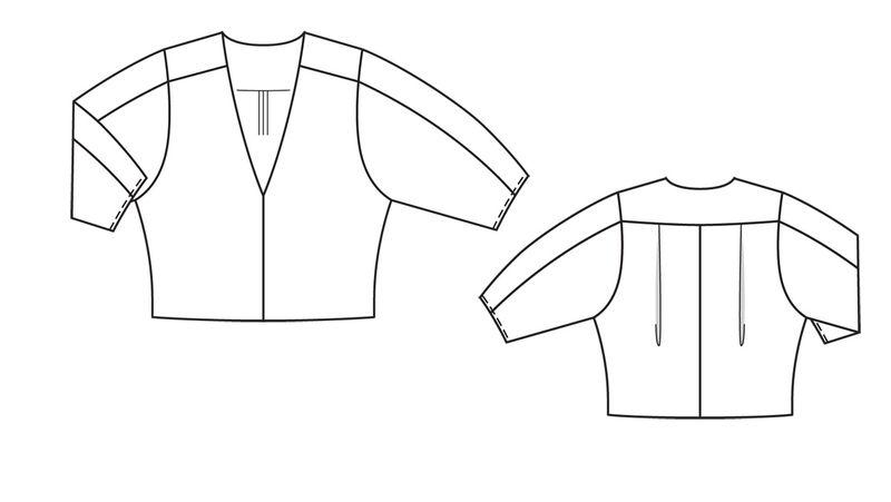Блузки из льна легко и быстро выкройки