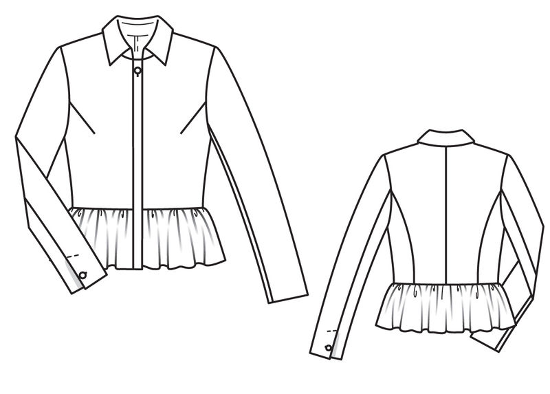 Баска блузка спб