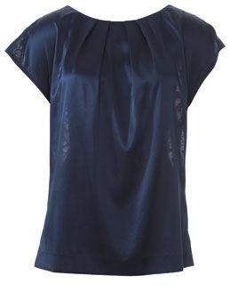 Блузка из креп сатина
