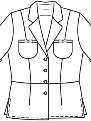 Блузка, выкройка