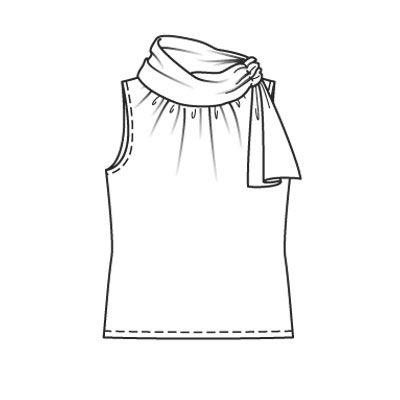 Блузка-топ