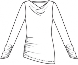 Комплект: брючки и пуловер