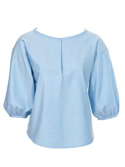 Блузки прямые