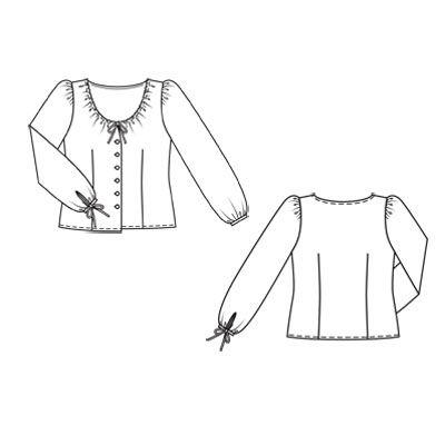 Крестьянская блузка в Волгограде