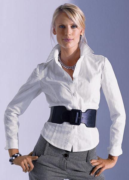 Блузка с манжетами в москве