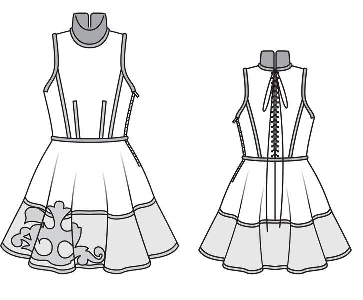 Выкройки платьев известных дизайнеров