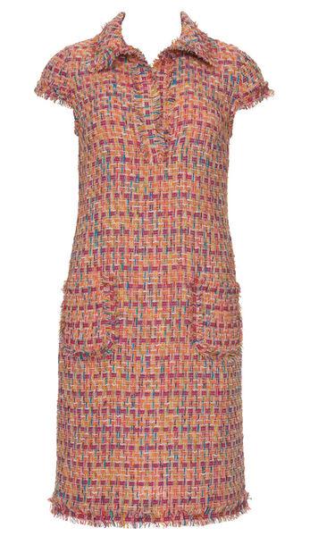 Сшить платье из ткани шанель 74