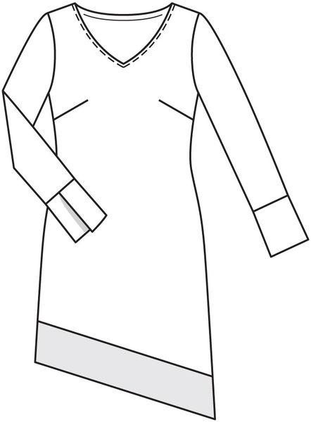 Универсальная модель для рабочего дня и свободного вечера. . Облегающее шифоновое платье... Журнал