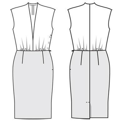 Выкройки платьев 2015 г