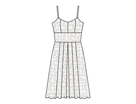 Коктейльное платье с фото и выкройками