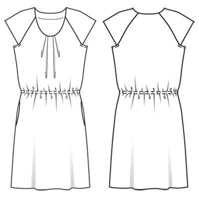 Платья из батиста с выкройками