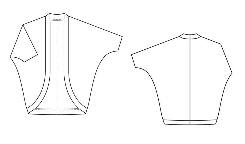 Выкройка длиной рубашки