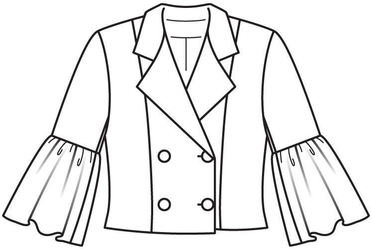 Журнал мод выкройки пальто