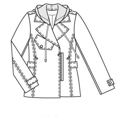 Выкройки больших размеров для полных: Выкройка куртки для холодной погоды