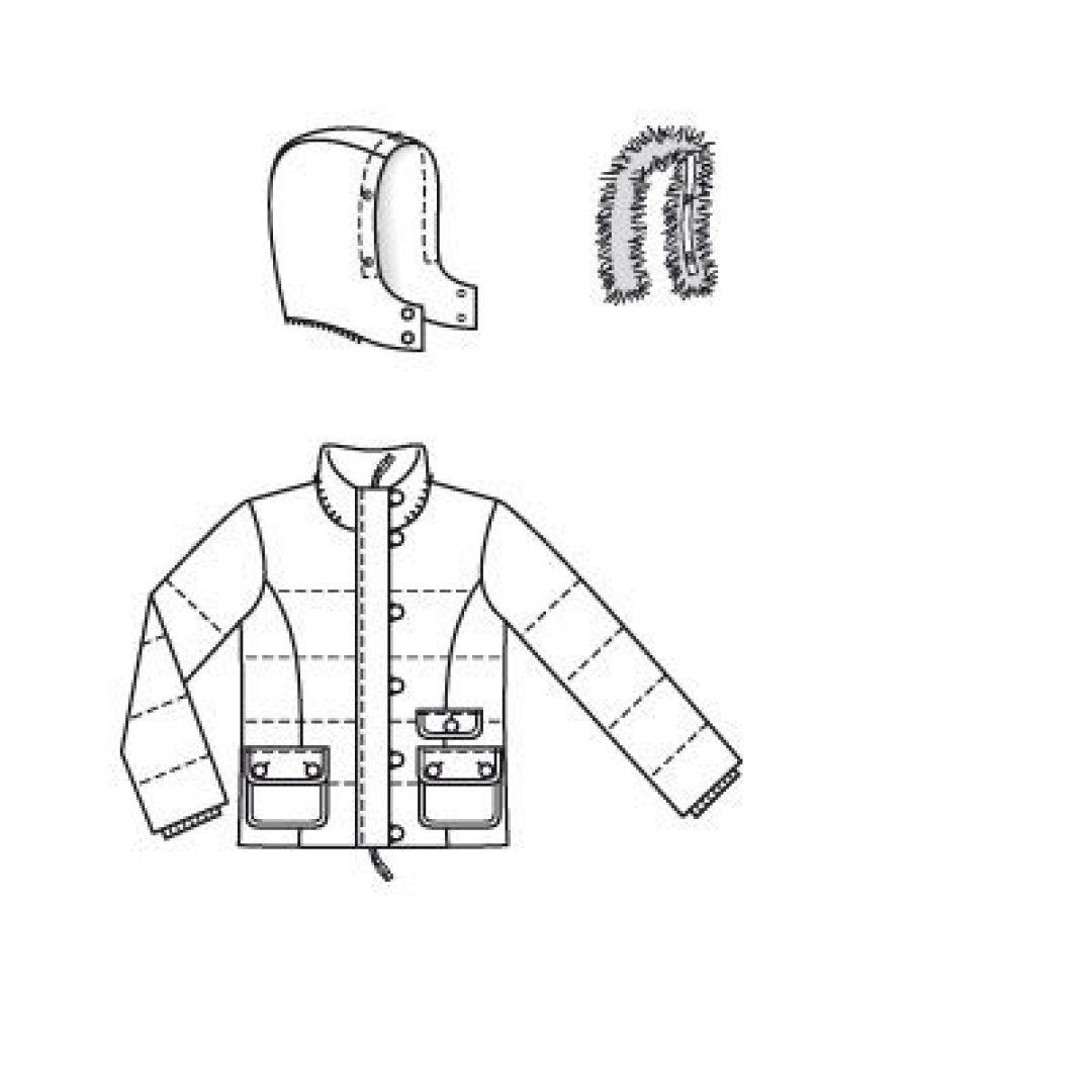 Рецепт двухсторонней куртки