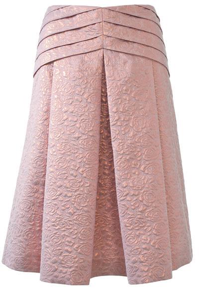 Кримплен юбка