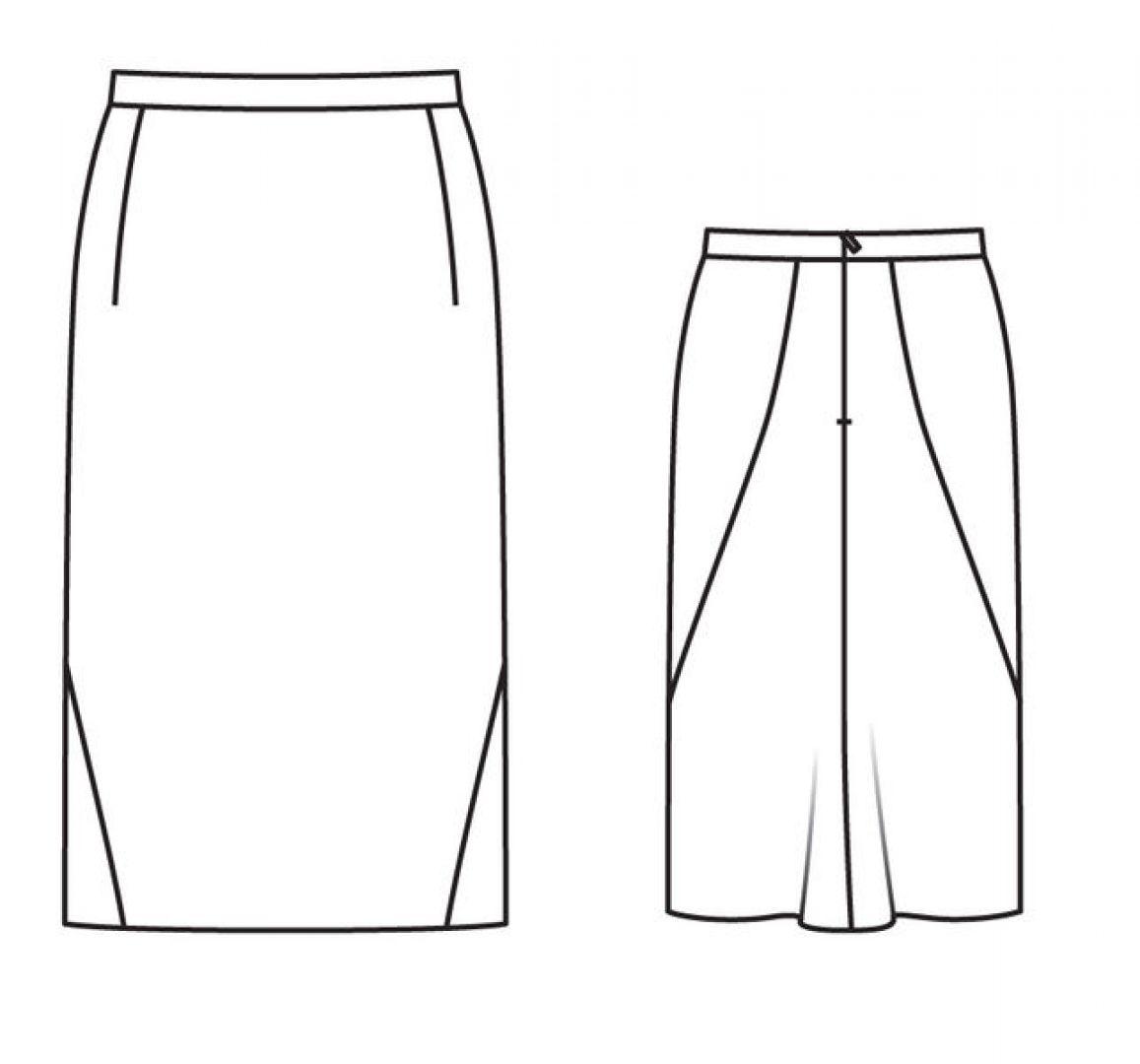 Заманчивый хвостик) нормальной юбки...))