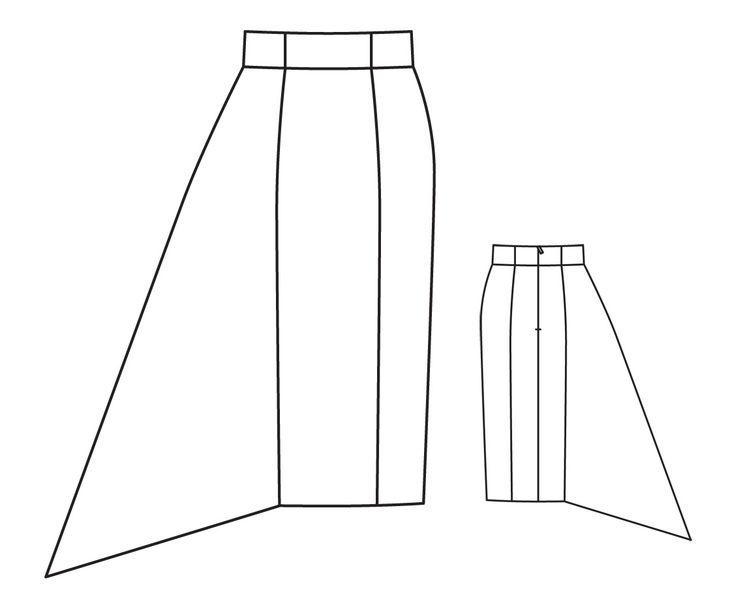Альтернатива юбке-карандаш