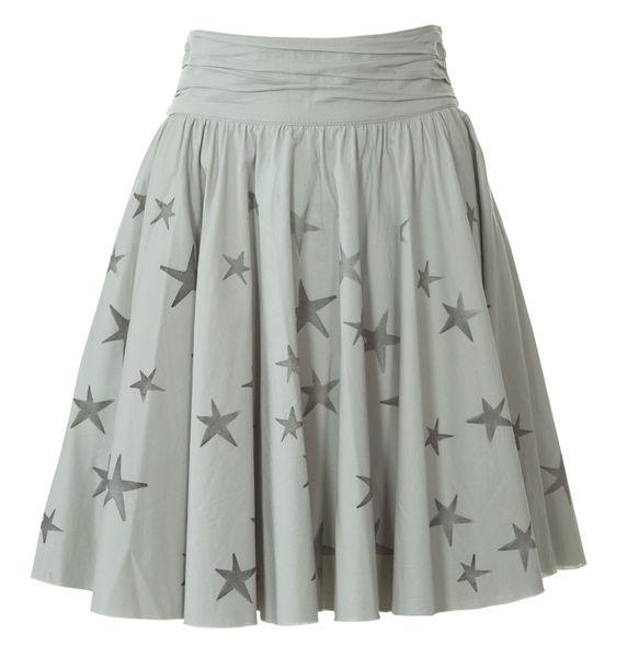 Пошив юбки с широким поясом