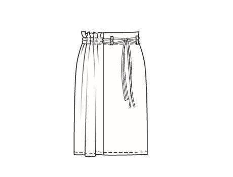 как шьется юбка в пол с запахом