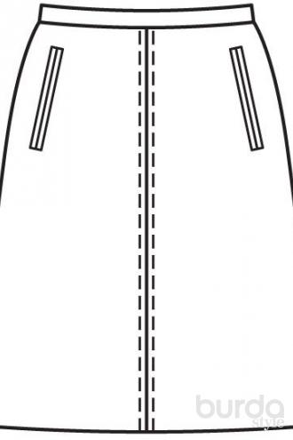 Выкройка юбок осинка