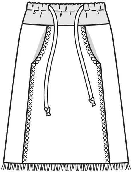 Юбки а-силуэта