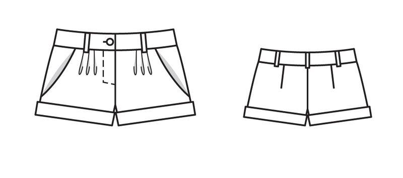 Выкройки шорт женских бурда