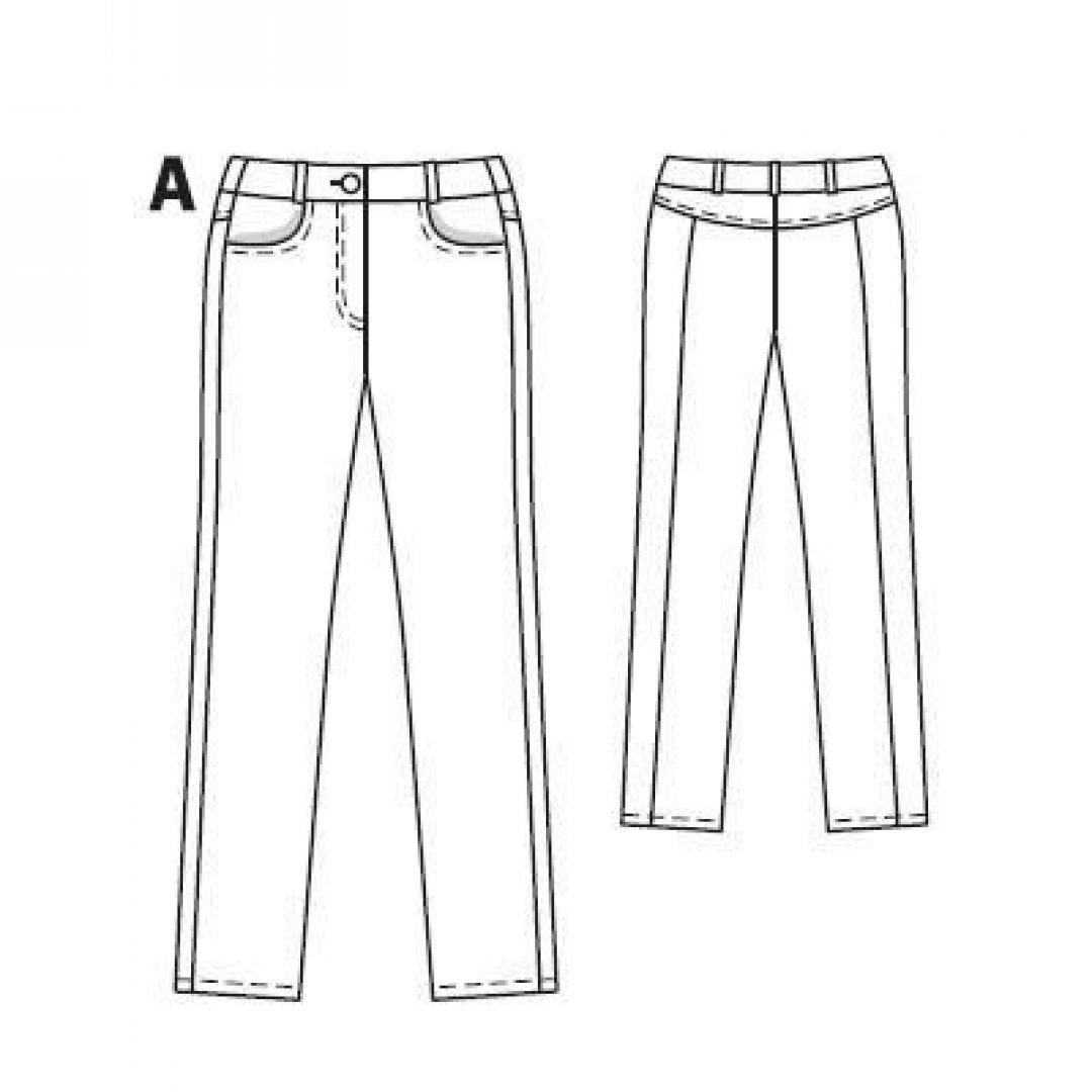 Универсальные джинсовые брючки