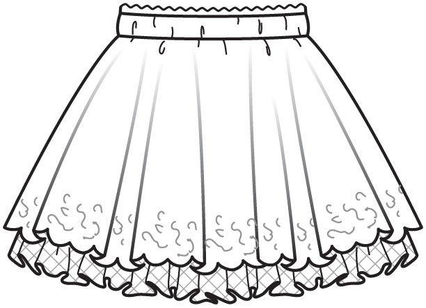 Как сшить юбку для школы для девочки своими руками