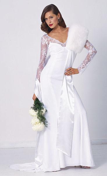 Свадебное платье в бурде