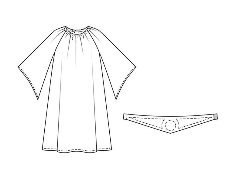 Выкройка платья принцесса